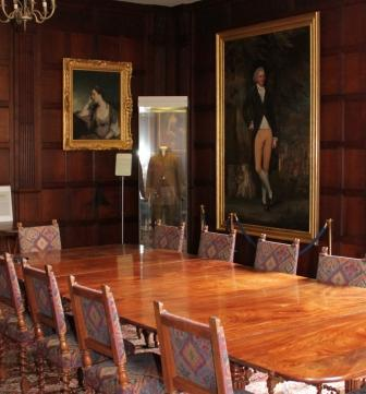 The dining room at Chawton House Library