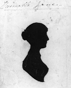 NPG 3181; Jane Austen by Unknown artist