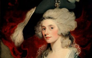 Painting of Mary Robinson by Hoppner