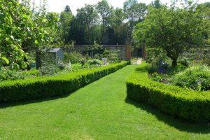 The Walled Kitchen Garden, built by Jane Austen's brother Edward