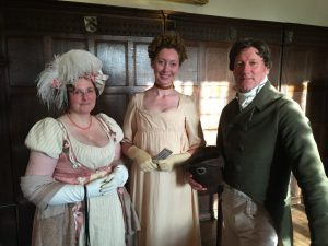 Hampshire regency dancers at EH talk