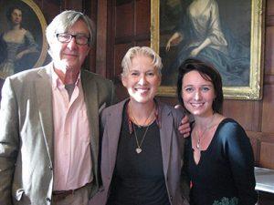 Simon Langton, Jane Gibson and Polly Maberly