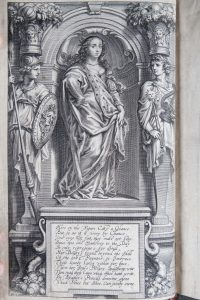 Engraved portrait of Margaret Cavendish