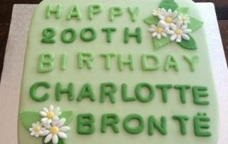 Picture of the birthday cake