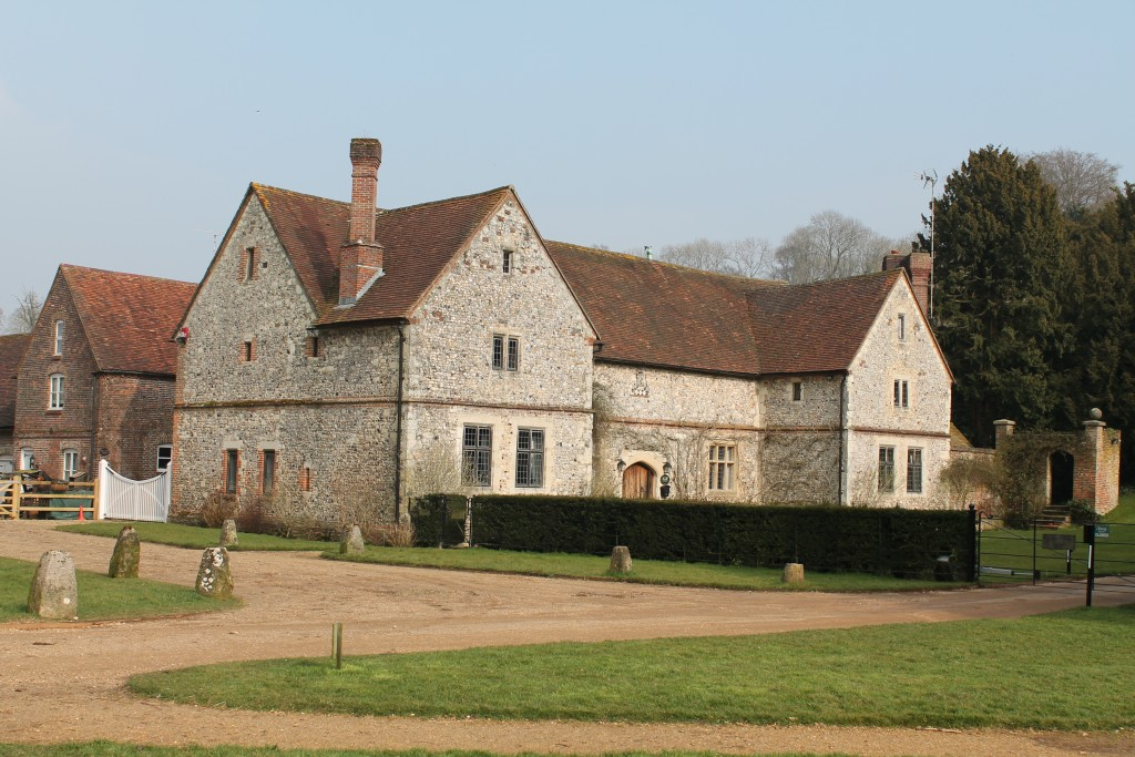 Chawton House Stables where the Visiting Fellows stay
