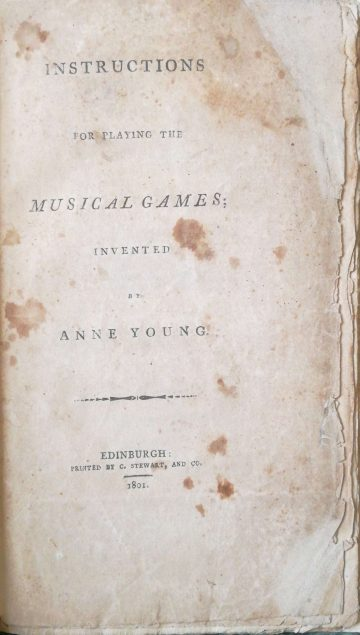 Anne Gunn Music Game Instructions