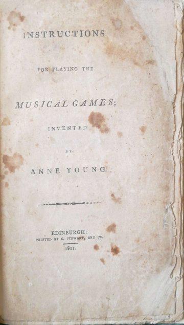 Anne Gunn Music Game Instructions