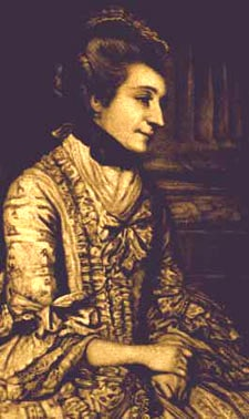 Portrait of Elizabeth Montagu