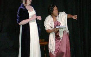 Outdoor theatre: Jane Austen and The Cheltonians